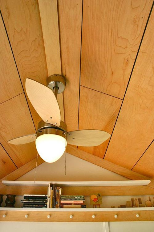 Ceiling Fan - Tall Man's Tiny House