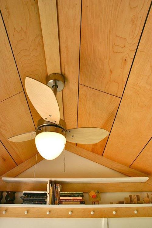 Ceiling Fan - Tall Man's Tiny House