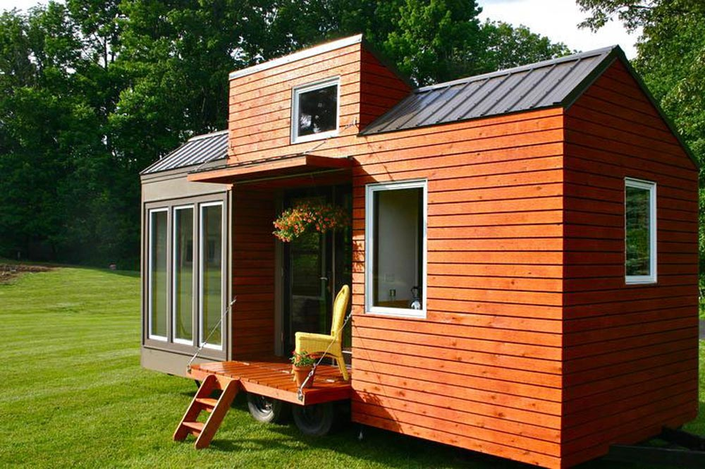 20' Trailer - Tall Man's Tiny House