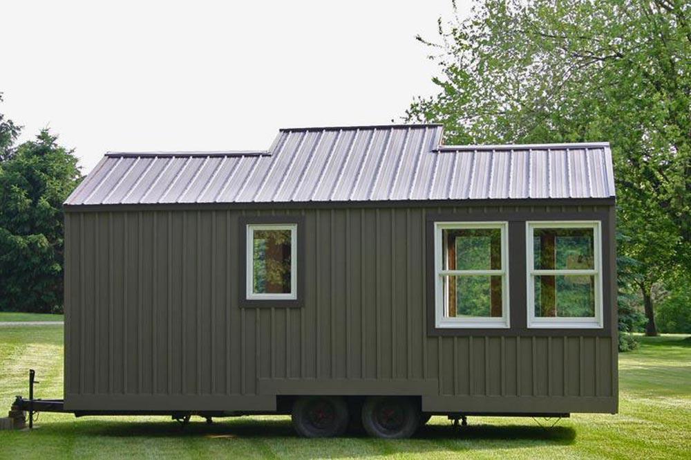 Rear View - Tall Man's Tiny House