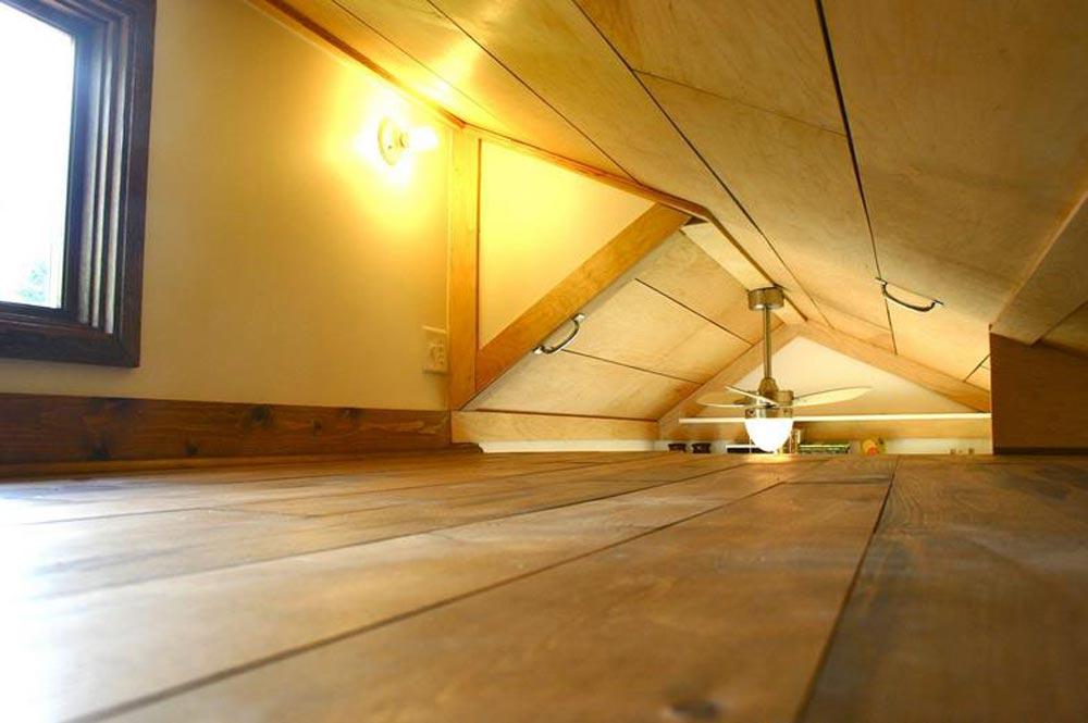 Extra Tall Bedroom Loft - Tall Man's Tiny House