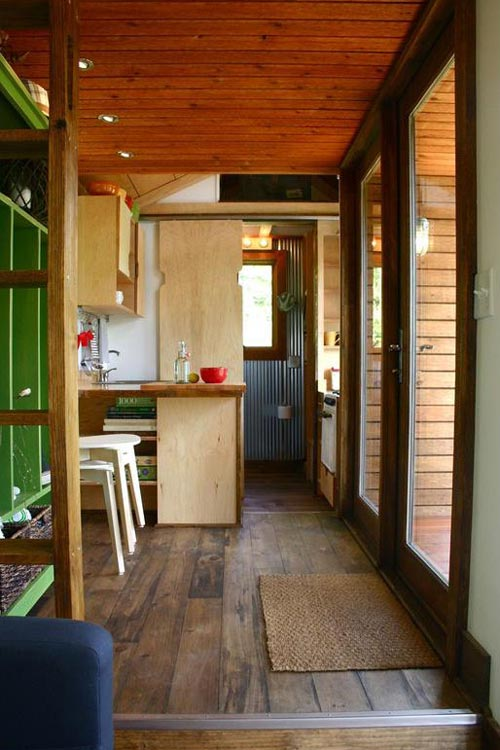 Interior View - Tall Man's Tiny House