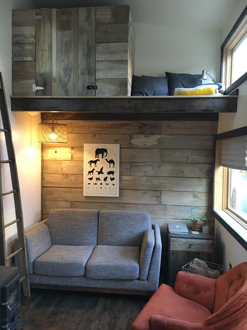 Living Room - Tanlers Tiny House