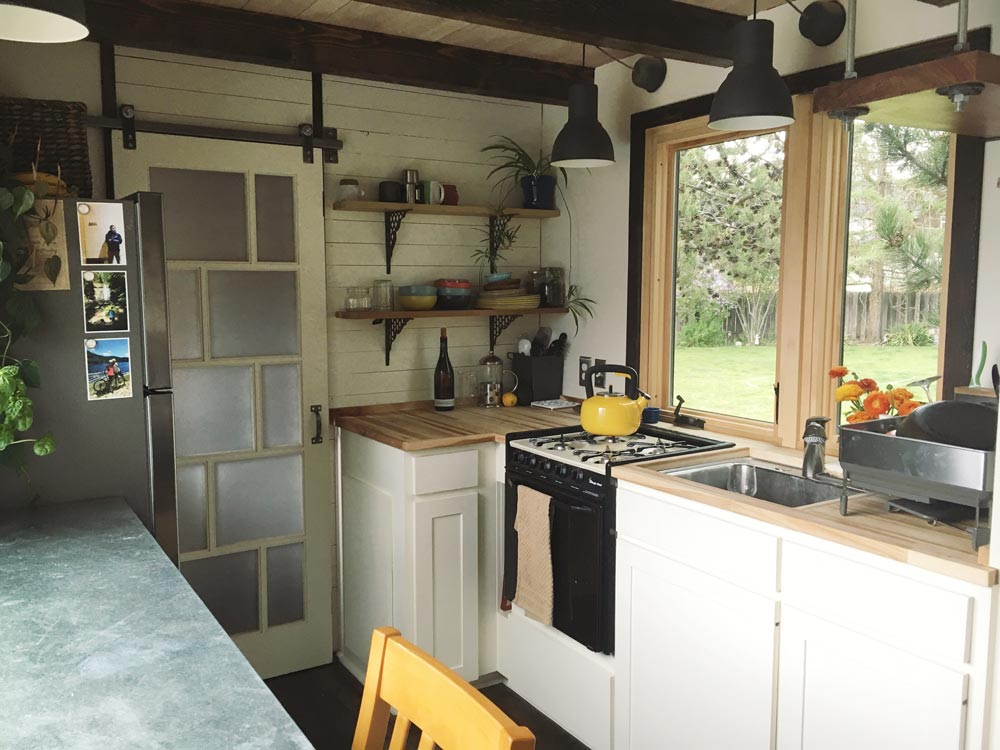 Kitchen - Tanlers Tiny House