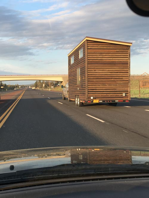 On The Move - Tanlers Tiny House