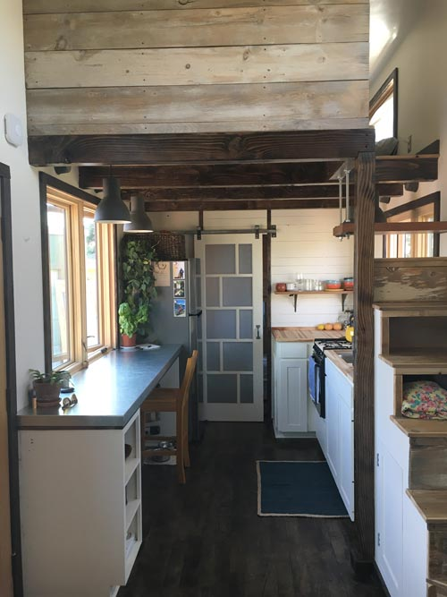 Kitchen & Dining Area - Tanlers Tiny House