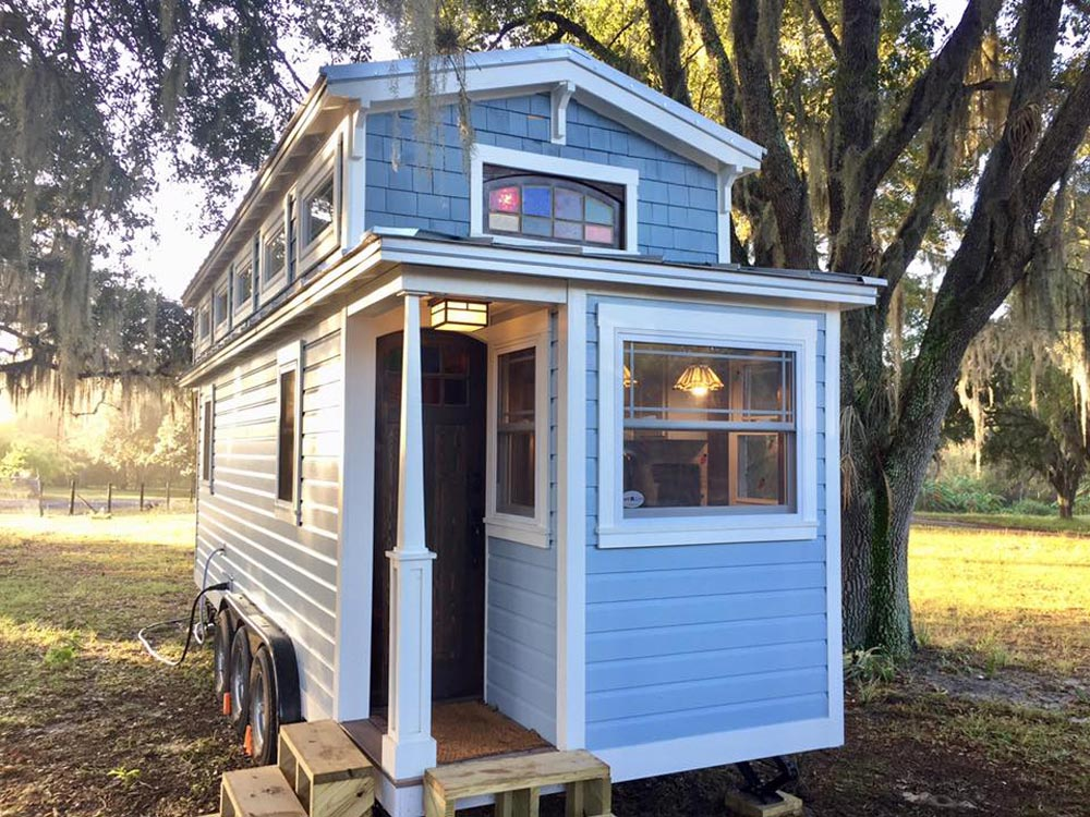Craftsman-Style Tiny House - Tiffany by A New Beginning Tiny Homes