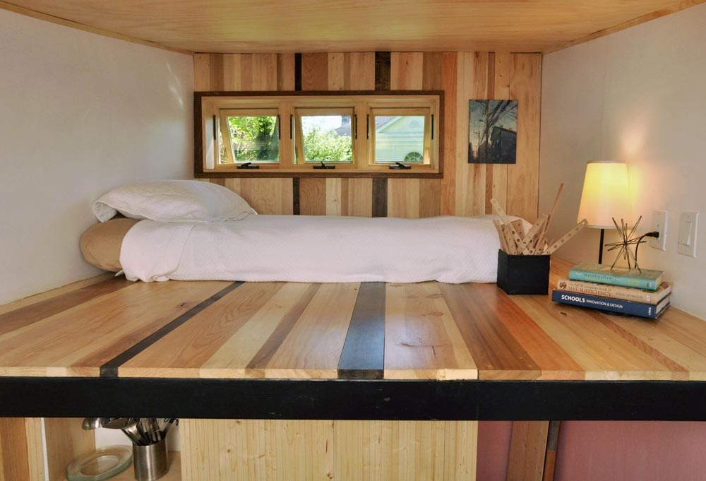 Bedroom Loft - Toy Box Tiny Home