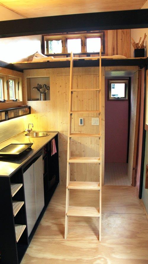 Loft Ladder - Toy Box Tiny Home