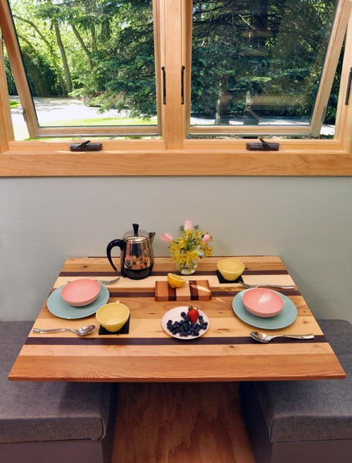 Dining Table - Toy Box Tiny Home