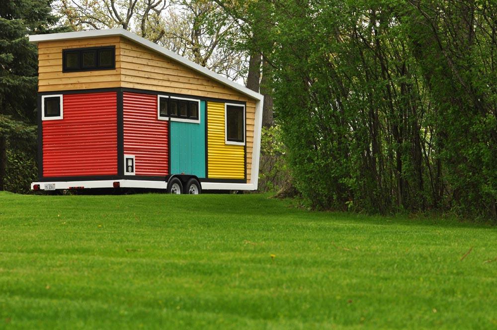 Environmentally Responsible Materials - Toy Box Tiny Home