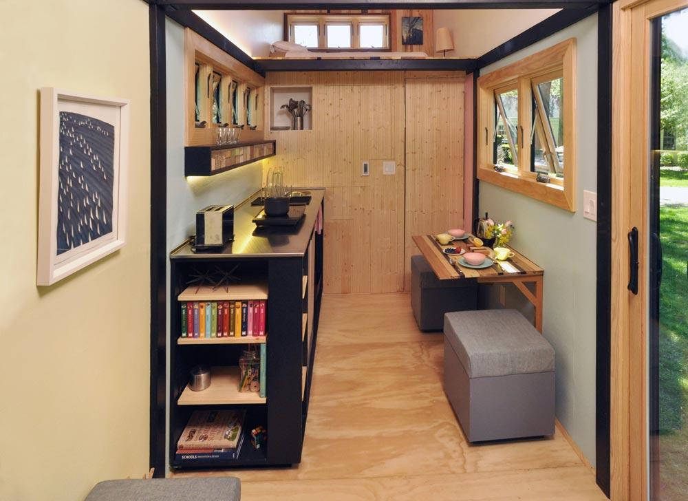Kitchen & Loft - Toy Box Tiny Home