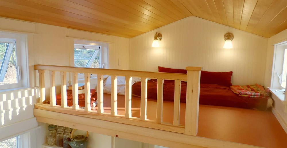 Bedroom Loft - Unita by Oregon Cottage Company