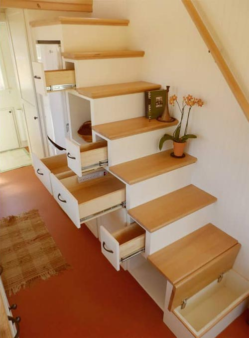 Storage Stairs - Unita by Oregon Cottage Company