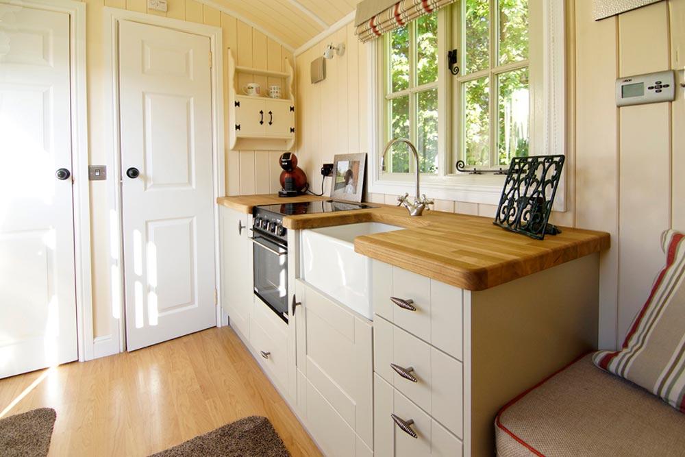 Kitchen - Wall Bed Hut by Riverside Shepherd Huts