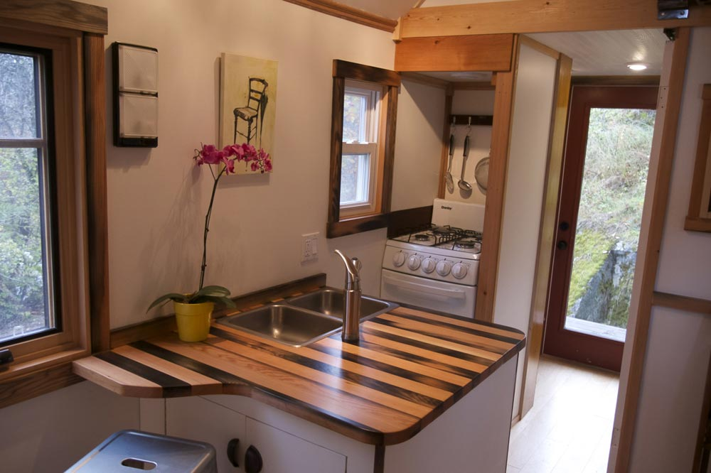Custom Kitchen Counter - Acorn by Nelson Tiny Houses