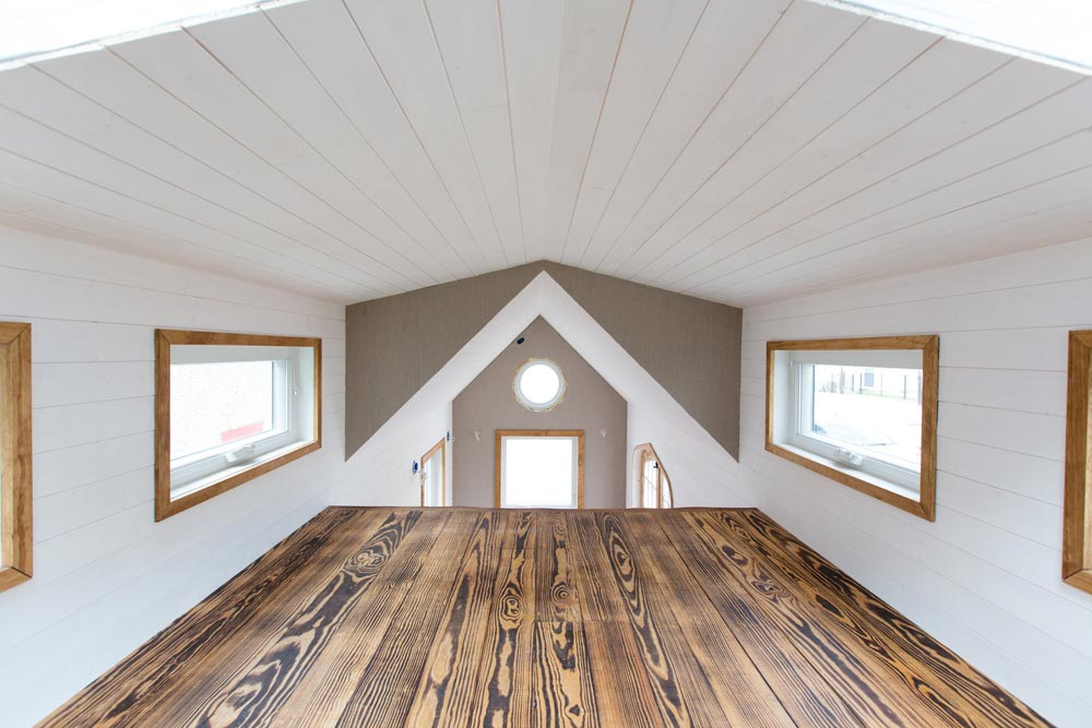 Natural Wood Elements - Best Little House in Texas