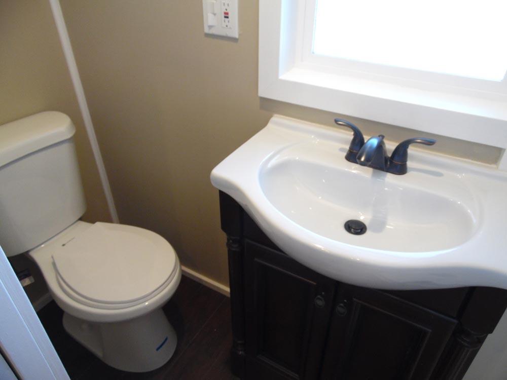 Bathroom - Birchwood by Upper Valley Tiny Homes