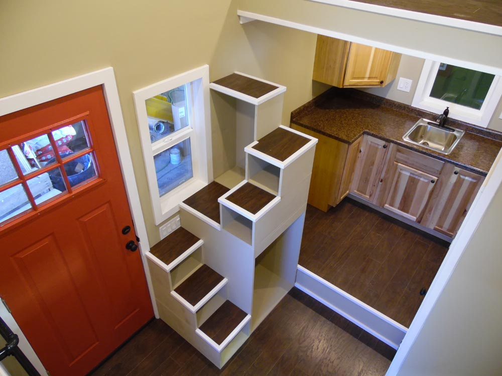 Tiny House Interior - Birchwood by Upper Valley Tiny Homes