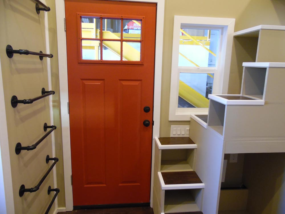 Entryway - Birchwood by Upper Valley Tiny Homes