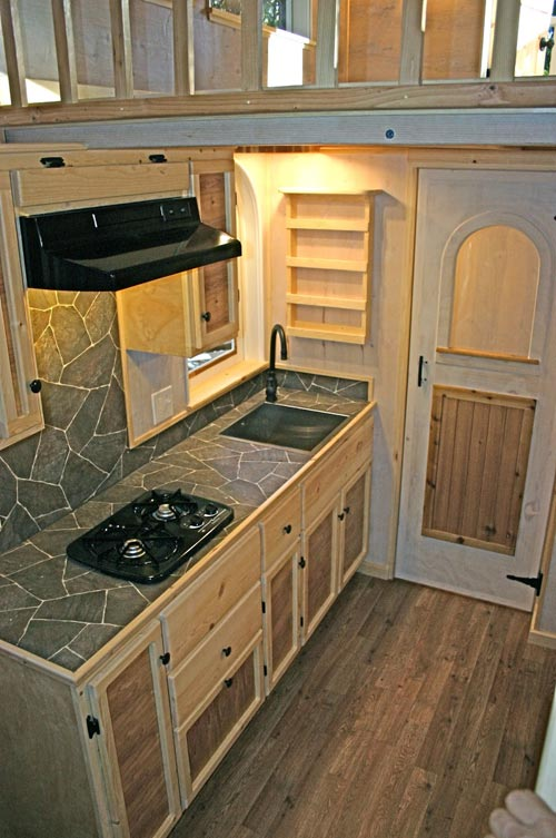 Kitchen - Chalet by Molecule Tiny Homes