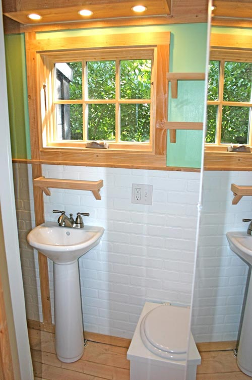 Bathroom - Charwood Cabin by Molecule Tiny Homes