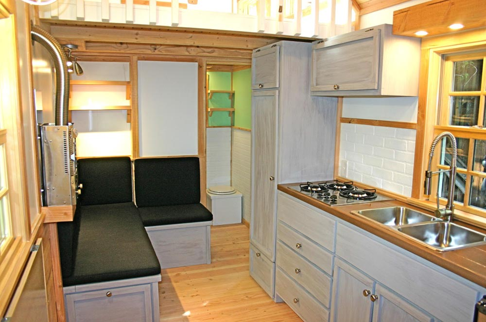 Kitchen - Charwood Cabin by Molecule Tiny Homes