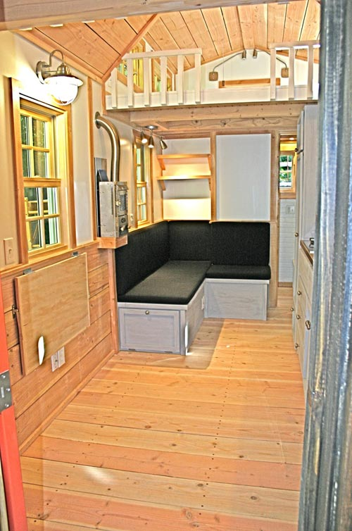 Living Area - Charwood Cabin by Molecule Tiny Homes
