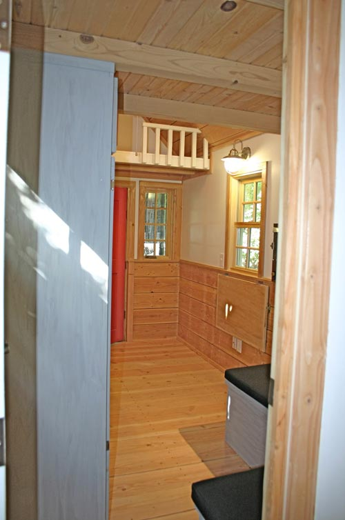 Entryway - Charwood Cabin by Molecule Tiny Homes