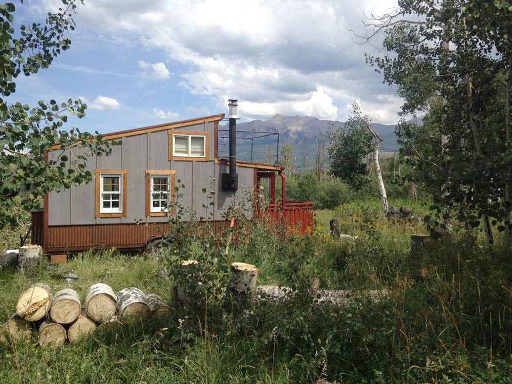 Tiny House Exterior - Clearstory by Jeremy Matlock