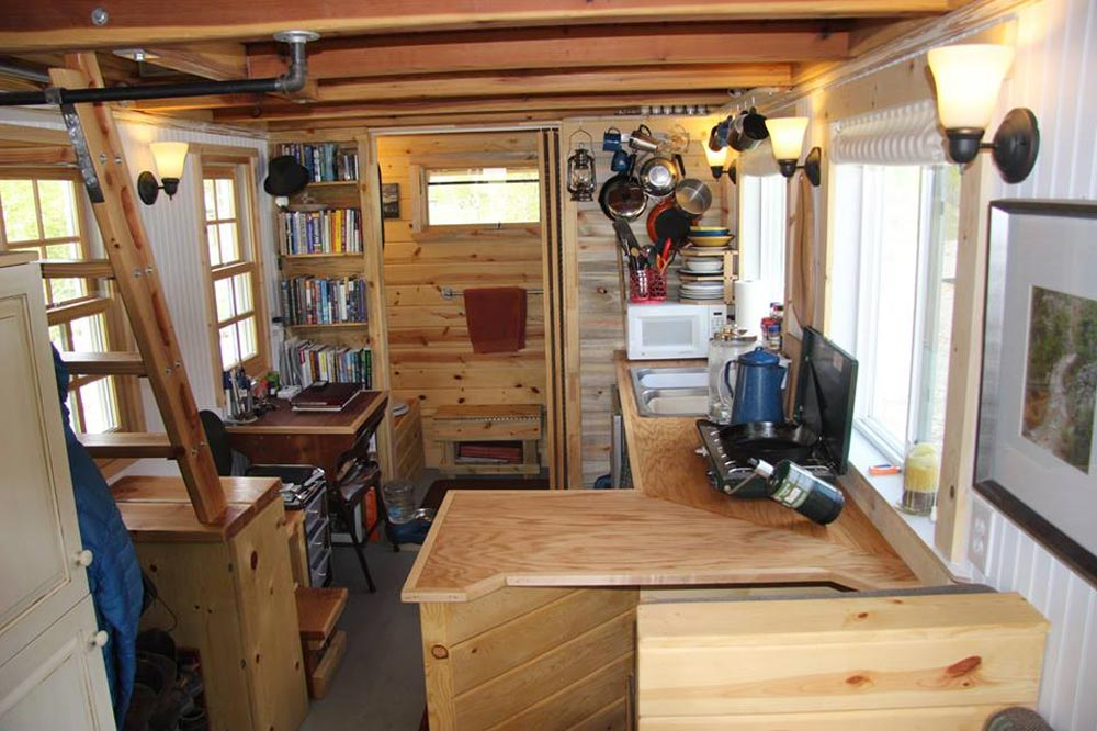 Tiny House Interior - Clearstory by Jeremy Matlock
