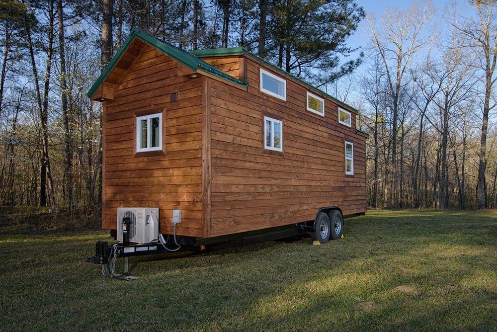Exterior Wood Siding - Dreamer by Alabama Tiny Homes