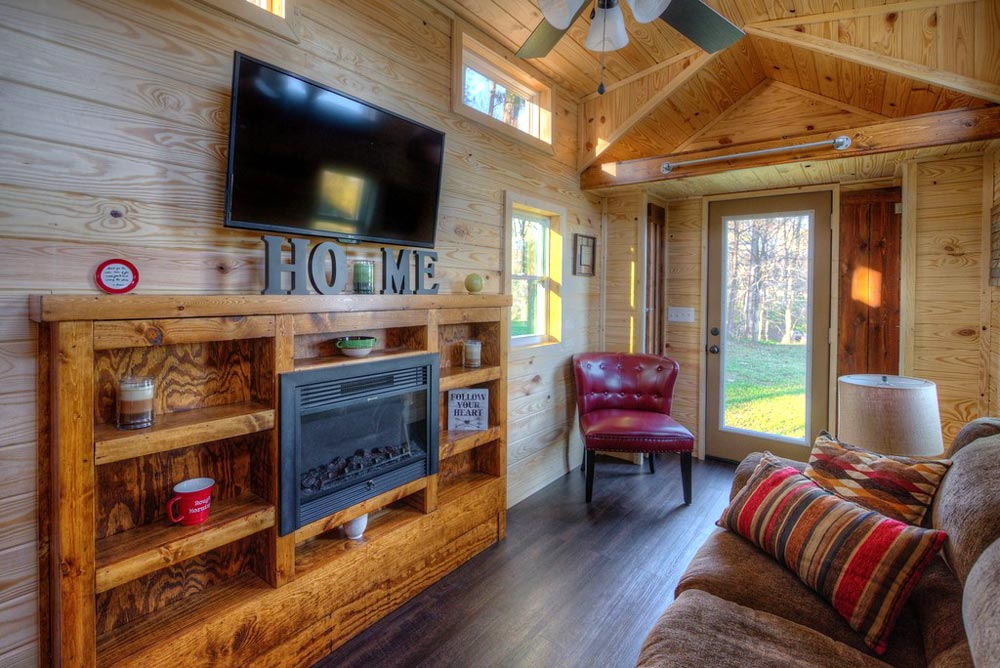 Living Room - Dreamer by Alabama Tiny Homes