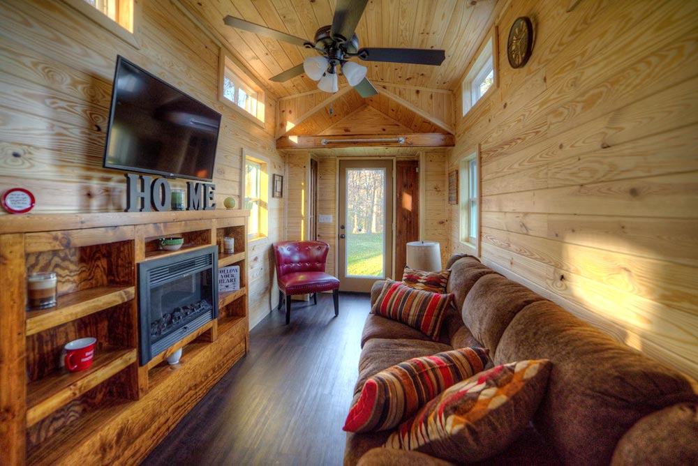 Full Couch - Dreamer by Alabama Tiny Homes