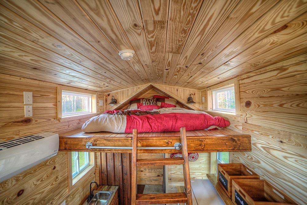 Bedroom Loft - Dreamer by Alabama Tiny Homes