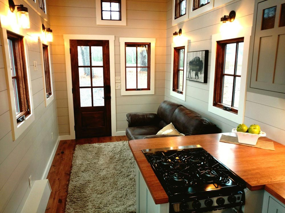 Living Room - Luxury Farmhouse by Timbercraft Tiny Homes