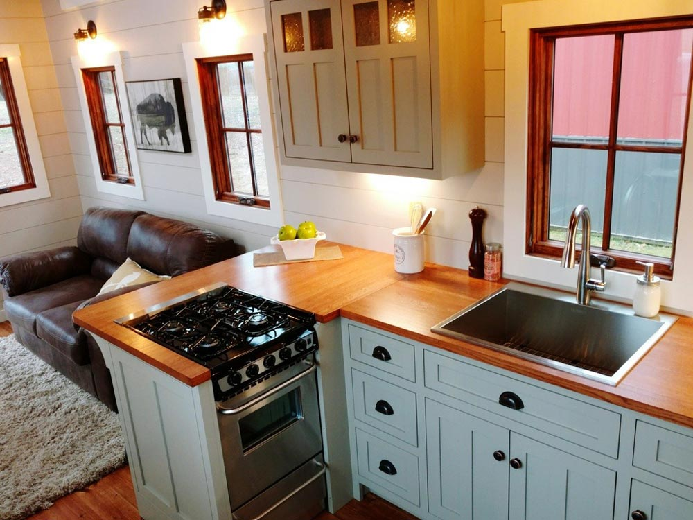 Kitchen Peninsula - Denali by Timbercraft Tiny Homes