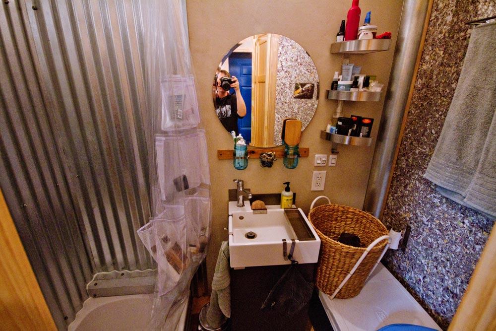 Bathroom - Lucky Tiny House