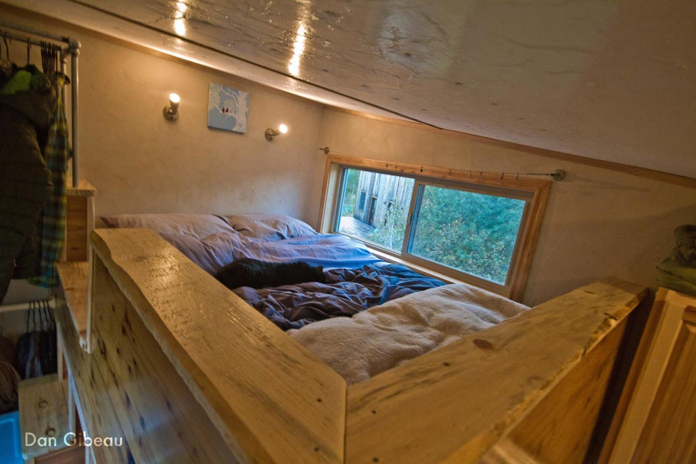 Bedroom Loft - Lucky Tiny House