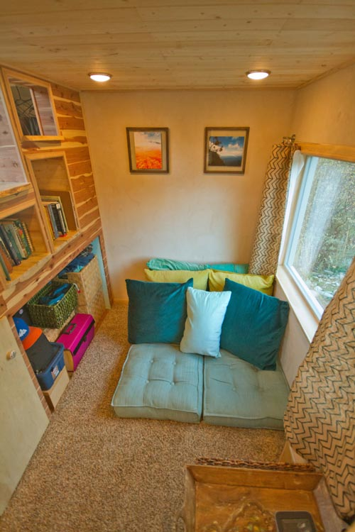 Living Room - Lucky Tiny House