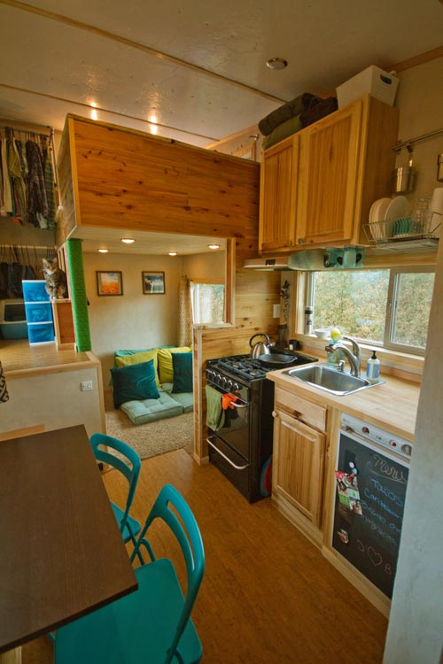 Kitchen - Lucky Tiny House