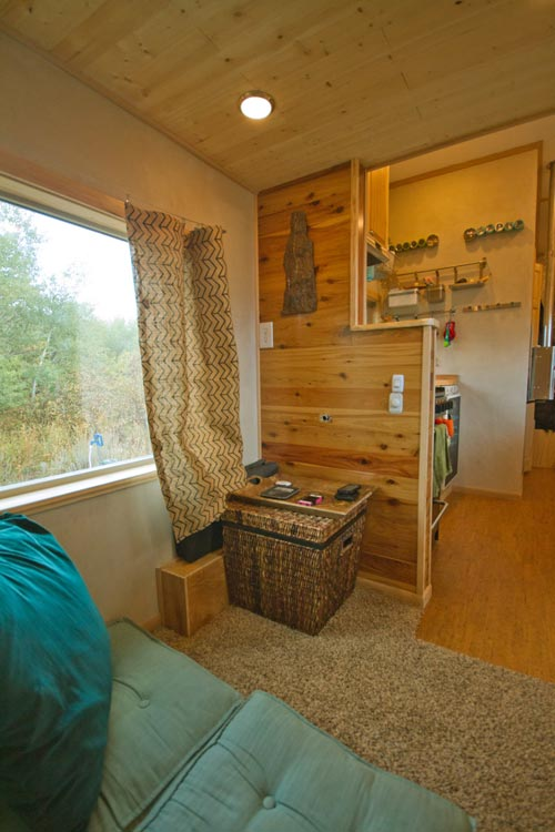 Living Area - Lucky Tiny House