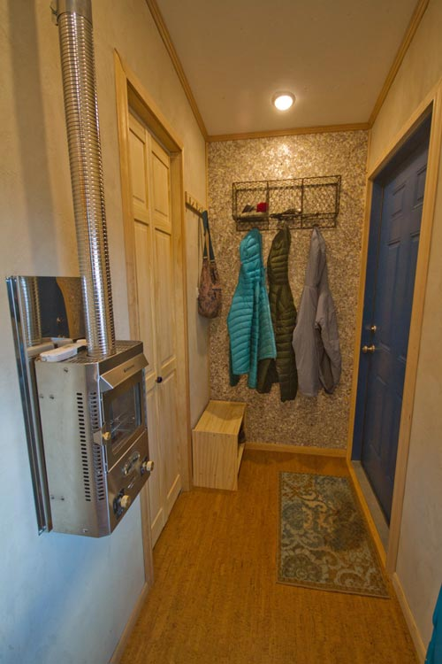 Entryway - Lucky Tiny House