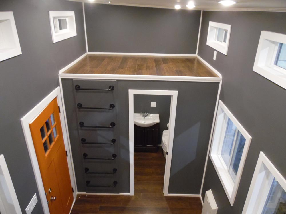 Secondary Loft - Man Cave by Upper Valley Tiny Homes