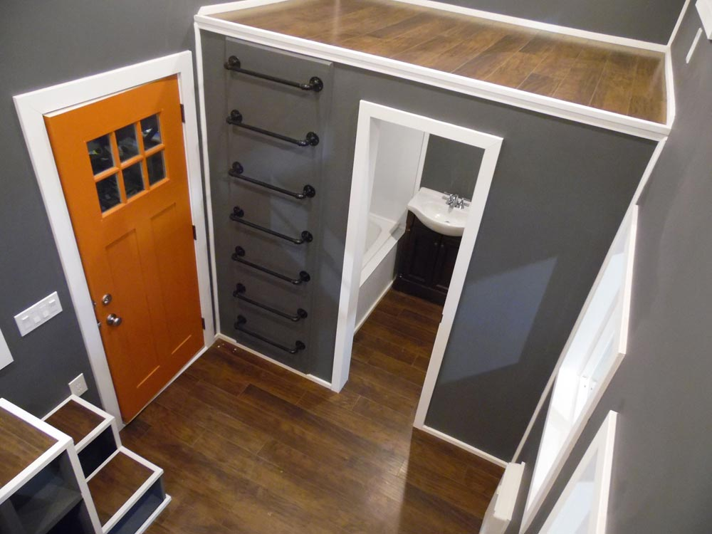 Entryway - Man Cave by Upper Valley Tiny Homes