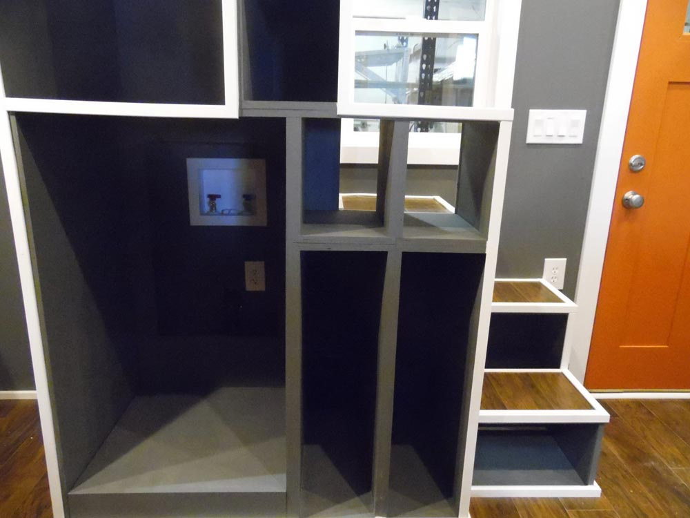 Storage Space - Man Cave by Upper Valley Tiny Homes