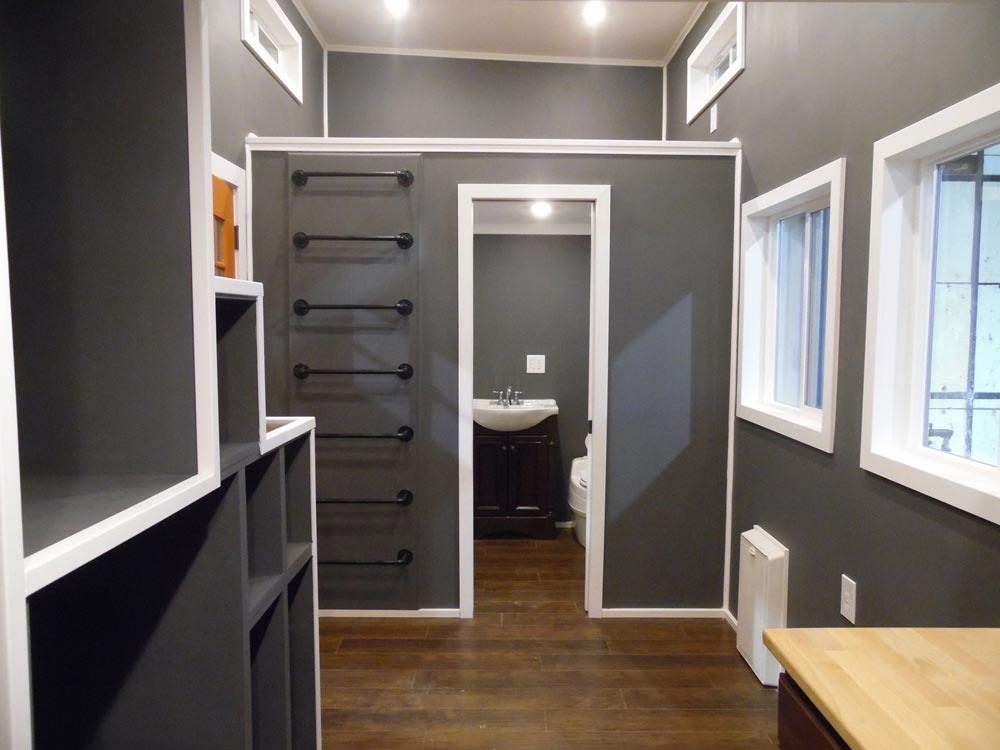 Living Area - Man Cave by Upper Valley Tiny Homes