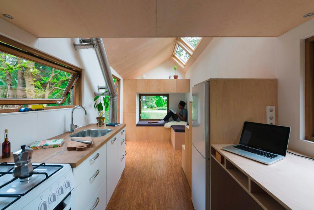 Marjolein's Tiny House in the Netherlands