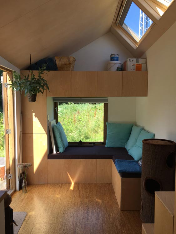 Living Room - Marjolein's Tiny House