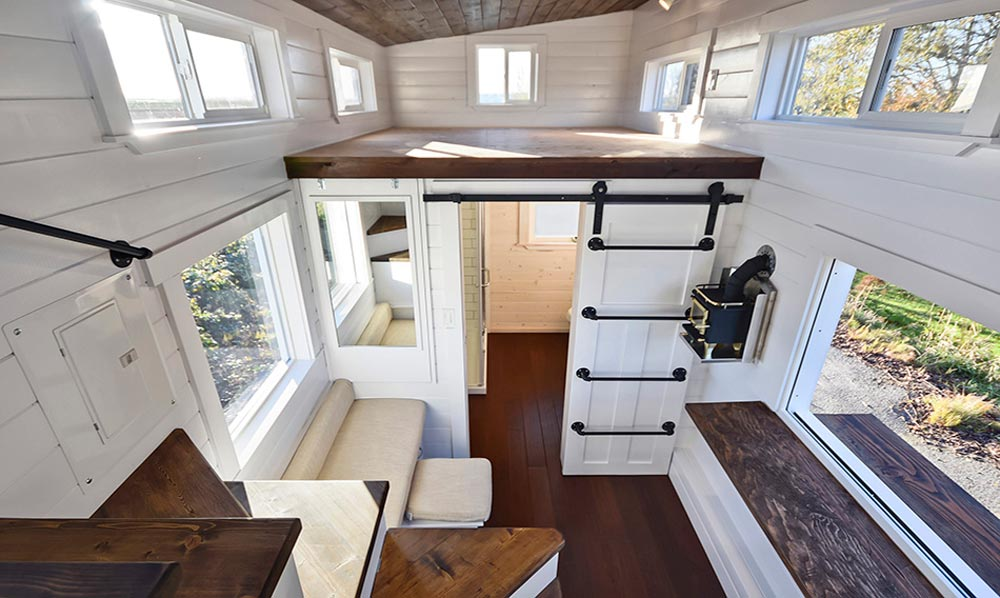 custom tiny house  mint tiny homes tiny living